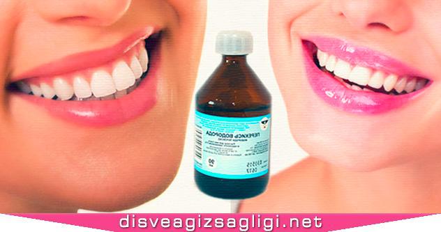 hidrojen peroksit, hidrojen, hidrojen ve diş,