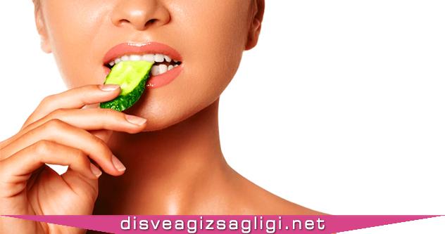 salatalık, salatalık yeme, salatalık diş ağrısı,