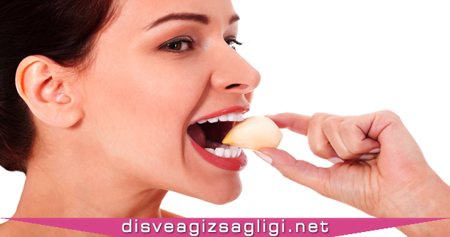sarımsak, sarımsak yiyen kadın, sarımsak dişe iyi gelir,